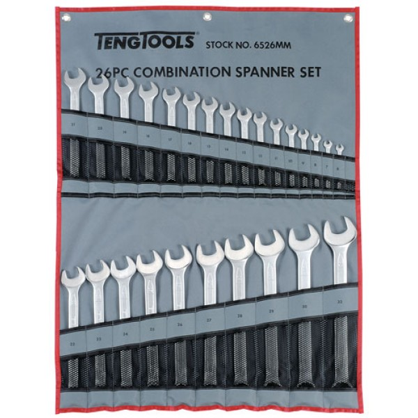 6526MM Combination Spanners