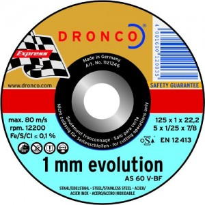 Evo 1.0mm Cutting discs