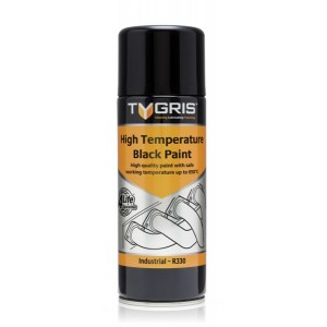 Black High Temperature Paint