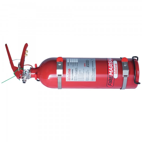 Zero 2000 2.25ltr Club Fire Marshal Mechanical Lifeline Fire Extinguisher: SERVICE