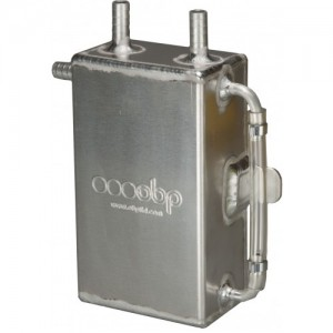 1 Ltr Square Bulk Head Mounted Oil Catch Tank