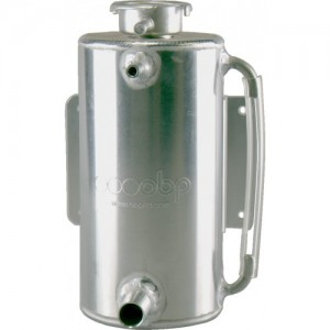 Alloy Water Header Tank - Vertical Round with Sight Tube