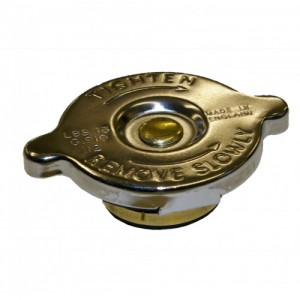 Chrome Top Radiator Cap